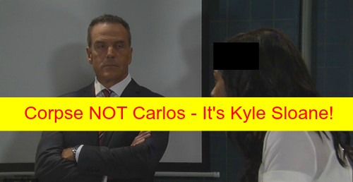 General Hospital (GH) Spoilers: Not Carlos Rivera's Corpse Found Floating in Port Charles Harbor - It's Kyle Sloane!