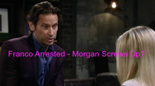 General Hospital (GH) Spoilers: Franco Arrested for Kiki's Drunk Hit and Run Carly Accident- Morgan Messes Up?