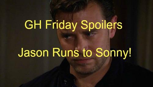 General Hospital (GH) Spoilers: Jason Confides in Sonny – Sam Goes Home, Liz Panics With Nik – Morgan Messes With Bipolar Meds