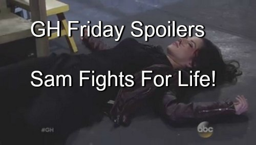 General Hospital (GH) Spoilers: Twisted Jake Goes For Sam, Ends Up Fighting For Life - Jason & Liz Figure Things Out Too Late