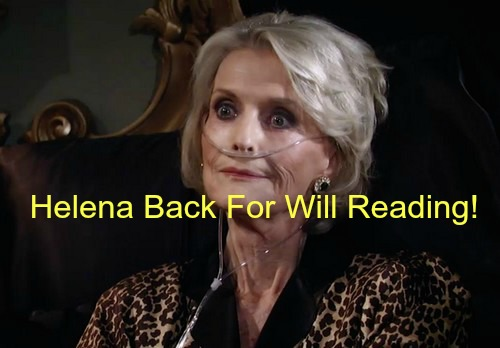 General Hospital (GH) Spoilers: Mystery Guest at Helena's Will Reading Revealed - A Blast From The Past
