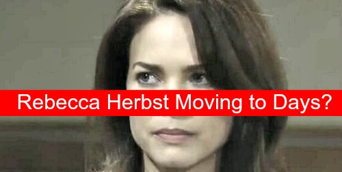 Days of Our Lives (DOOL) Spoilers: General Hospital's Rebecca Herbst Headed to Salem – Contract Negotiations Go Downhill at GH?