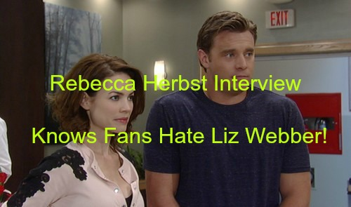 General Hospital (GH) Spoilers: Rebecca Herbst Know Fans Hate Liz Webber - Doesn't Care - Doing Her Job Well