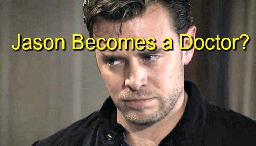 General Hospital (GH) Spoilers: Jason Returns to Medical School - Turns Away From Stone Cold for Good