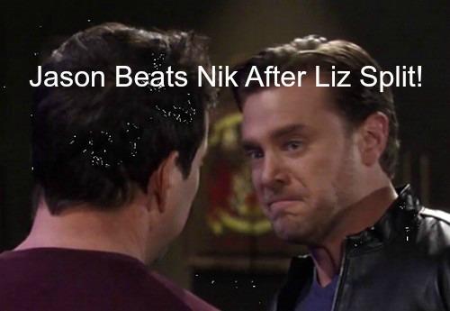 General Hospital (GH) Spoilers: After Liz Break-Up, Jason Brutally Attacks Nikolas in Final Showdown - Leaves Town Angry?