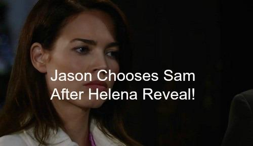 General Hospital (GH) Spoilers: Jason Chooses Sam After Helena Reveal - Heartbroken Liz Turns to Nik On The Rebound?