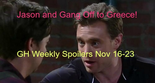 General Hospital (GH) Spoilers: Jason and Gang Adventure to Cassadine Island - Sonny and Morgan Vie to Murder Ava