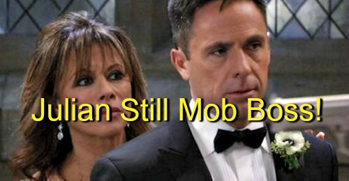General Hospital (GH) Spoilers: Julian Still Deep in the Mob - Jerome the Secret Boss of Paul and Dixon the Gun Runner