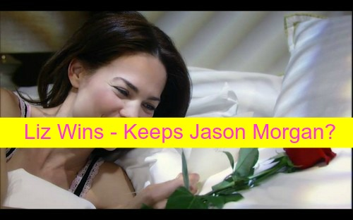 General Hospital (GH) Spoilers: Liz Wins, Keeps Jason After Wedding Reveal - Liz His True Love, Port Charles Outrage?