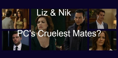 General Hospital (GH) Spoilers: Liz and Nikolas the Worst Mates in PC - Britt and Ric Old Victims, Jason and Hayden New Ones