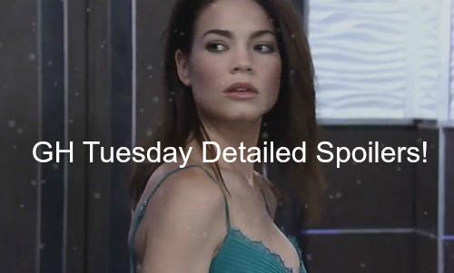General Hospital (GH) Spoilers: Sam Wants Jason Back - Carly Attacks Liz - Michael Corners Sabrina – Tracy Catches Paul