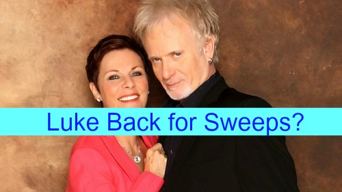 General Hospital (GH) Spoilers: Tracy's Spa Vacation Shocker - Is Luke Back for Sweeps - Anthony Geary Returns?