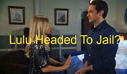 General Hospital (GH) Spoilers: Lulu Faces Jail Over Johnny's Attempted Murder of Valerie - Dante Furious