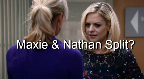 General Hospital (GH) Spoilers: Will Nathan's Love for Claudette Cause Split with Maxie - Mystery Revealed