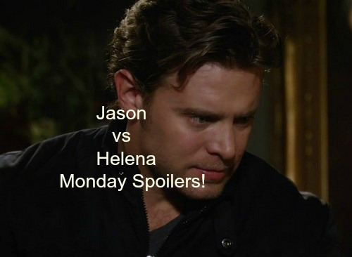 General Hospital (GH) Spoilers: Helena's Stunning Confession to Jason - Sabrina Baby Shocker for Michael - Morgan Rages