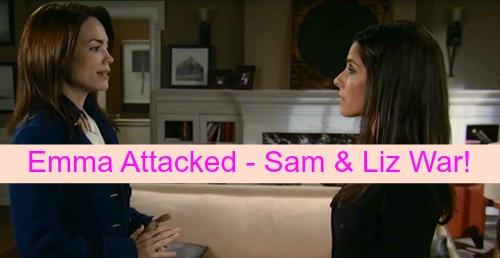General Hospital (GH) Spoilers: Robin Blackmailed by Emma Attack - Sam and Liz Battle - Jason Threatens Nik, Blames Helena
