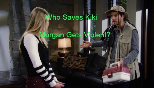 General Hospital (GH) Spoilers: Will Morgan Assault Kiki During Bipolar Spiral - Can Carly Get There to Stop Attack?
