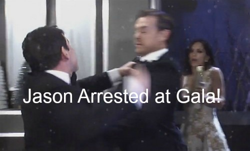 General Hospital (GH) Spoilers: Jason Arrested After Gala Brawl - Nik Schemes to Keep ELQ?