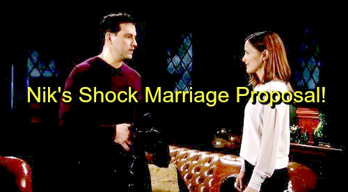 General Hospital (GH) Spoilers: Nikolas Stuns Hayden With Spur of the Moment Marriage Proposal