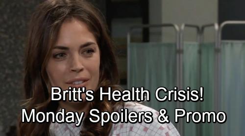 General Hospital Spoilers: Wednesday, November 6 – Britt's Health News – Charlotte Learns Spencer's Secret – Chase Flirts with Willow