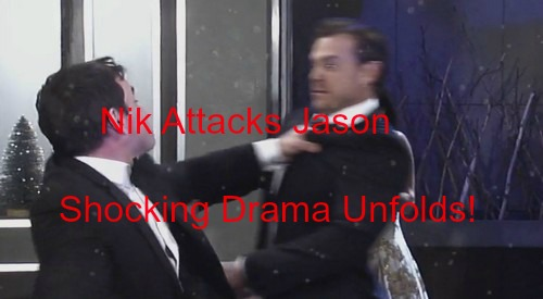 General Hospital (GH) Spoilers: Nik Attacks Jason at Nutcracker Gala - Michael Demands Baby Truth - Patrick Assaults Jerry