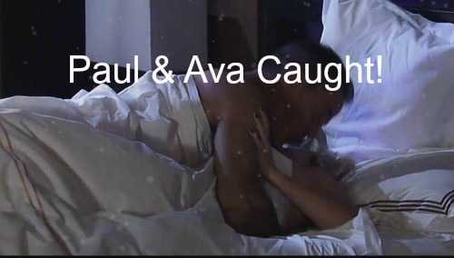 General Hospital (GH) Spoilers: Paul Caught Red Handed in Bed with Ava - DA's Dirty Secrets Exposed