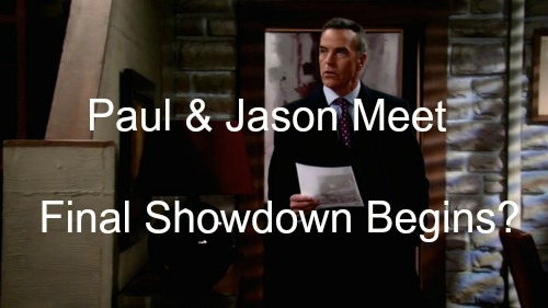 General Hospital (GH) Spoilers: Jason Crosses Paths With Paul - Unexpected Major Consequences Begin