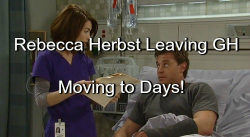 General Hospital Spoilers: Rebecca Herbst Leaving GH - Contract Talks Break Down - Moving to Days of Our Lives?
