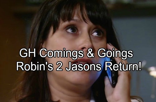 General Hospital Spoilers: Comings and Goings - Kimberly McCullough Hints Return For 2 Jasons – Chris Van Etten Casting News