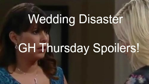General Hospital (GH) Spoilers: Disaster Strikes Robin's Wedding – Jason Shows Up Uninvited - Hayden's Messy Secret