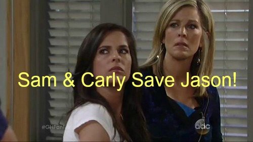 General Hospital (GH) Spoilers: Carly and Sam Join Forces to Exonerate Jason Over Nikolas Assault