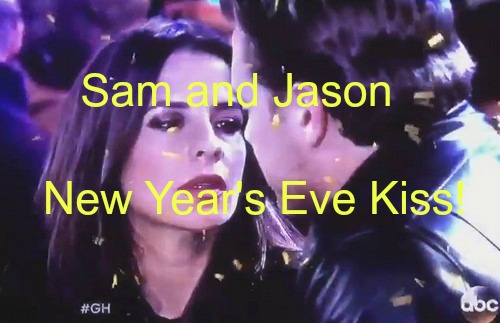 General Hospital (GH) Spoilers: Sam and Jason Reunite for Passionate New Year's Eve Kiss – Liz Left Out in the Cold?