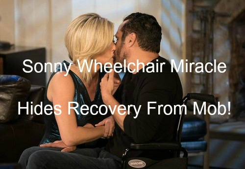General Hospital (GH) Spoilers: Sonny Miracle Comeback from Paralysis - Uses Wheelchair Scam to Fool Mob Enemies