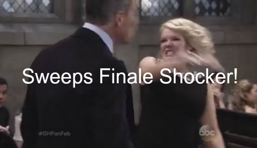 General Hospital Spoilers (GH): Sweeps Finale - Who Lives & Dies - Wedding and Hospital Shock Outcome