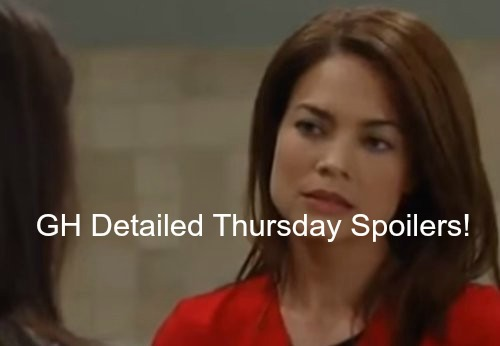 General Hospital (GH) Spoilers: Bitter Liz Angry Face Off With Sam – Robin Rescue Mission Escalates – Kristina's Big Secret