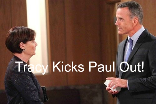 General Hospital (GH) Spoilers: Tracy Kicks Paul Out Over Ava Cheating Scandal - Where Will Disgraced DA Go?