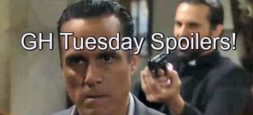 General Hospital (GH) Spoilers: Sonny Faces Death At Carlos' Hands - Desperate Gun Battle Follows