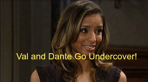 General Hospital (GH) Spoilers: Valerie and Dante Working Undercover Leads to Lust - Drives Lulu Into Dillon's Arms?