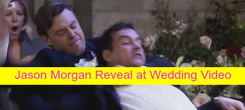 General Hospital (GH) Spoilers: Jason Morgan Wedding Reveal Video Shows Jake Attack Nikolas, Carly Bloody and Bandaged