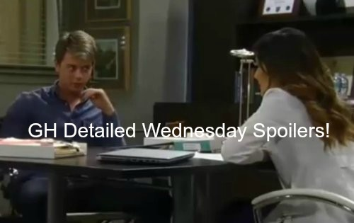 General Hospital (GH) Spoilers: Michael Shocked by Sabrina's Baby Sonagram – Morgan Explodes – Jerry Ready to Kill Robin