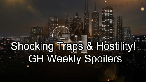 General Hospital Spoilers: Week of September 17-21 – Shocking Traps, Erupting Hostility and Unraveling Secrets