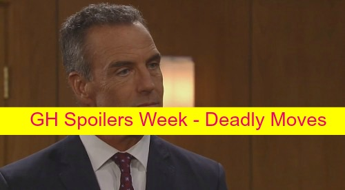 General Hospital (GH) Spoilers Week: Spinelli Closes in on Jake's Identity - Lulu and Dante Implode - Paul Blackmails Anna