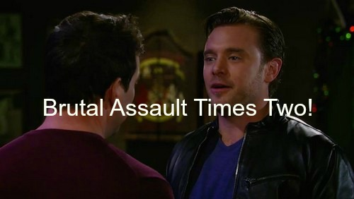 General Hospital (GH) Spoilers: Liz Faces Brutal Assault Times Two - Nik Takes a Beating - Holiday Gala Kicks Off