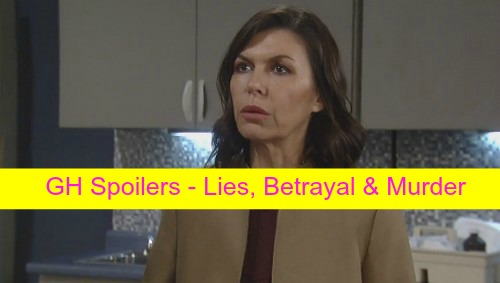 General Hospital (GH) Spoilers: Lies, Betrayal and Murder - Spinelli Cracks The Case, Anna Cracks Up