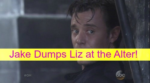 General Hospital (GH) Spoilers: Jake Dumps Liz at the Altar After Sam and Patrick Get Married