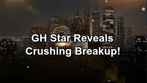 General Hospital Spoilers: GH Star Reveals Difficult Breakup – Shares Low Point of 2018 and How She's Coping