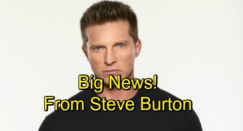 General Hospital Spoilers: Steve Burton Talks GH Buzz, Co-Stars, and Upcoming Storylines - New Solo Events