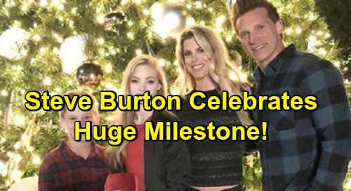 General Hospital Spoilers: Steve Burton Celebrates Huge Milestone