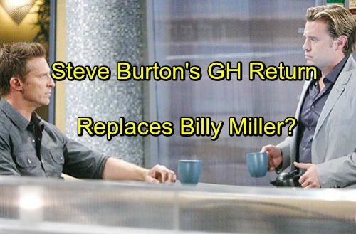 'General Hospital' Spoilers: Steve Burton Returning To GH - Replacing Billy Miller as Stone Cold Jason Morgan?