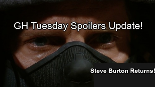 General Hospital Spoilers: Tuesday, September 19 Update – Steve Burton Unmasked - Carly Talks To Jason